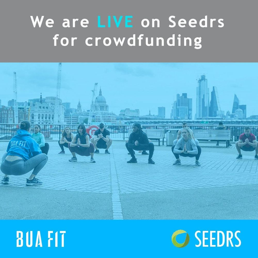 We're crowdfunding and LIVE on Seedrs!   And we're already 90% funded! 😮😮😮  Come be part of our journey quick! Please remember your capital is at risk. Please share our news!  See our pitch [here!](https://www.seedrs.com/buafit)