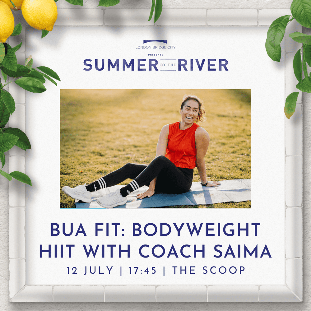 📣 📣 📣 Today's the day! 📣 📣 📣  Complimentary city fitness for you has landed! [Book your space now.](https://bua.fit/class/X1AmobE6MU9V)  See you at The Scoop near London Bridge at 17:45 sharp.   P.S. Our friends at [PRESS](https://press-london.com) will be on hand with refreshments.