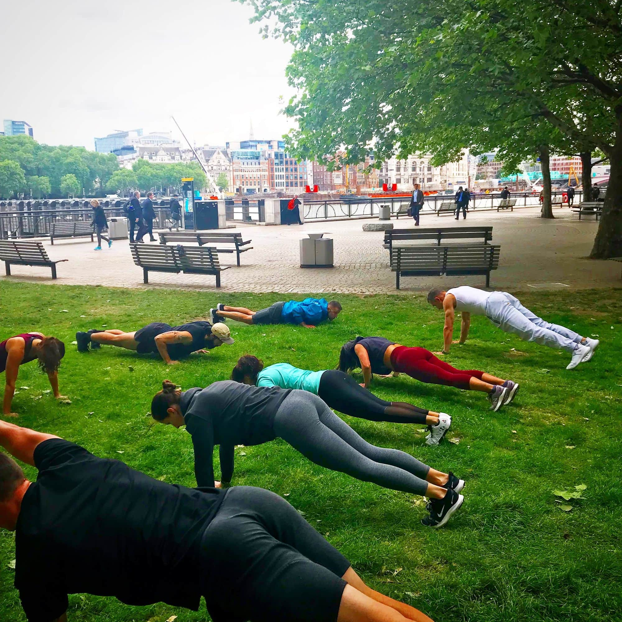 Body Weight Bootcamp - Outdoor Body Bulk Class