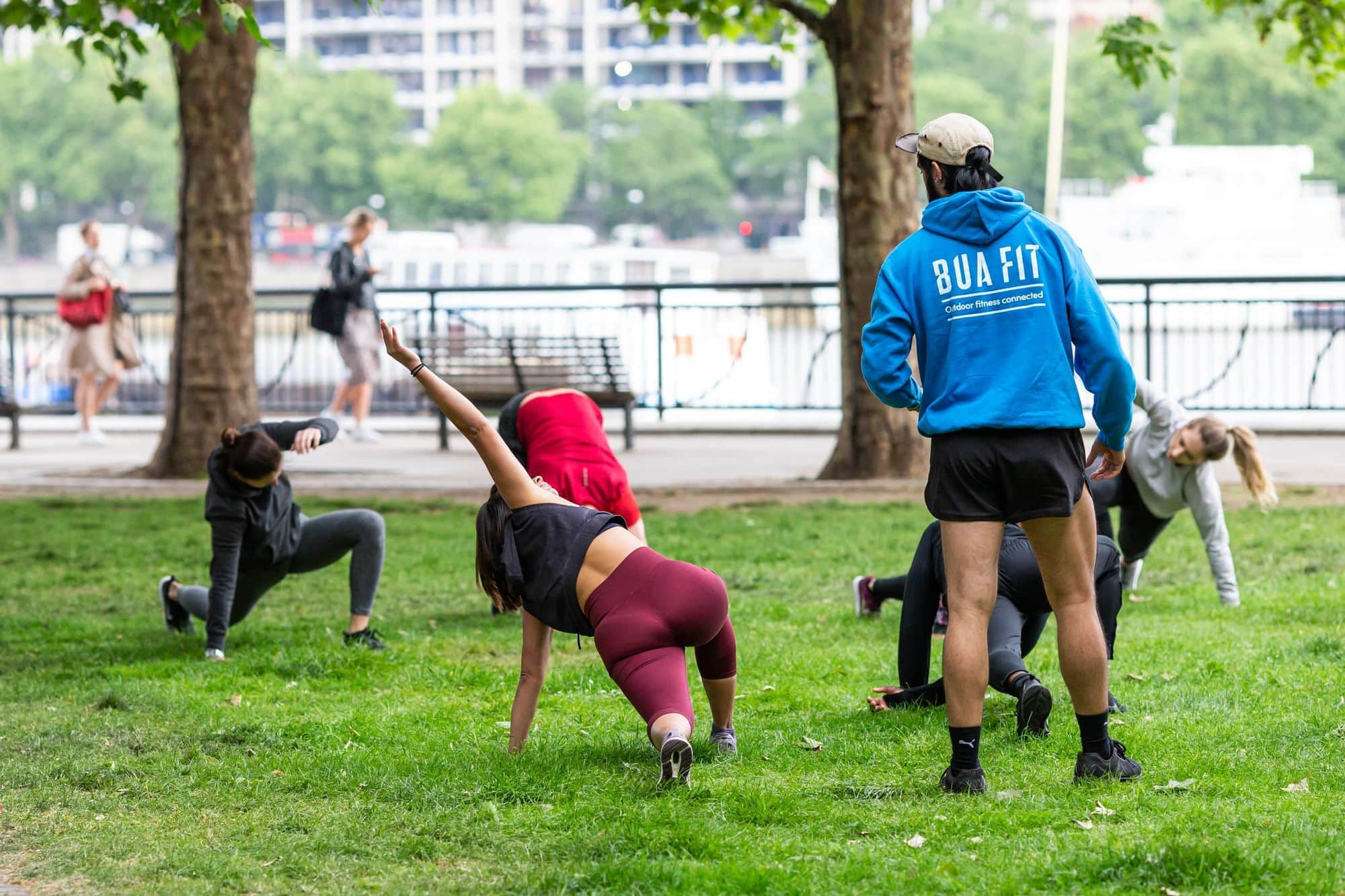 Bamboo Flow - Outdoor Park Fit Class