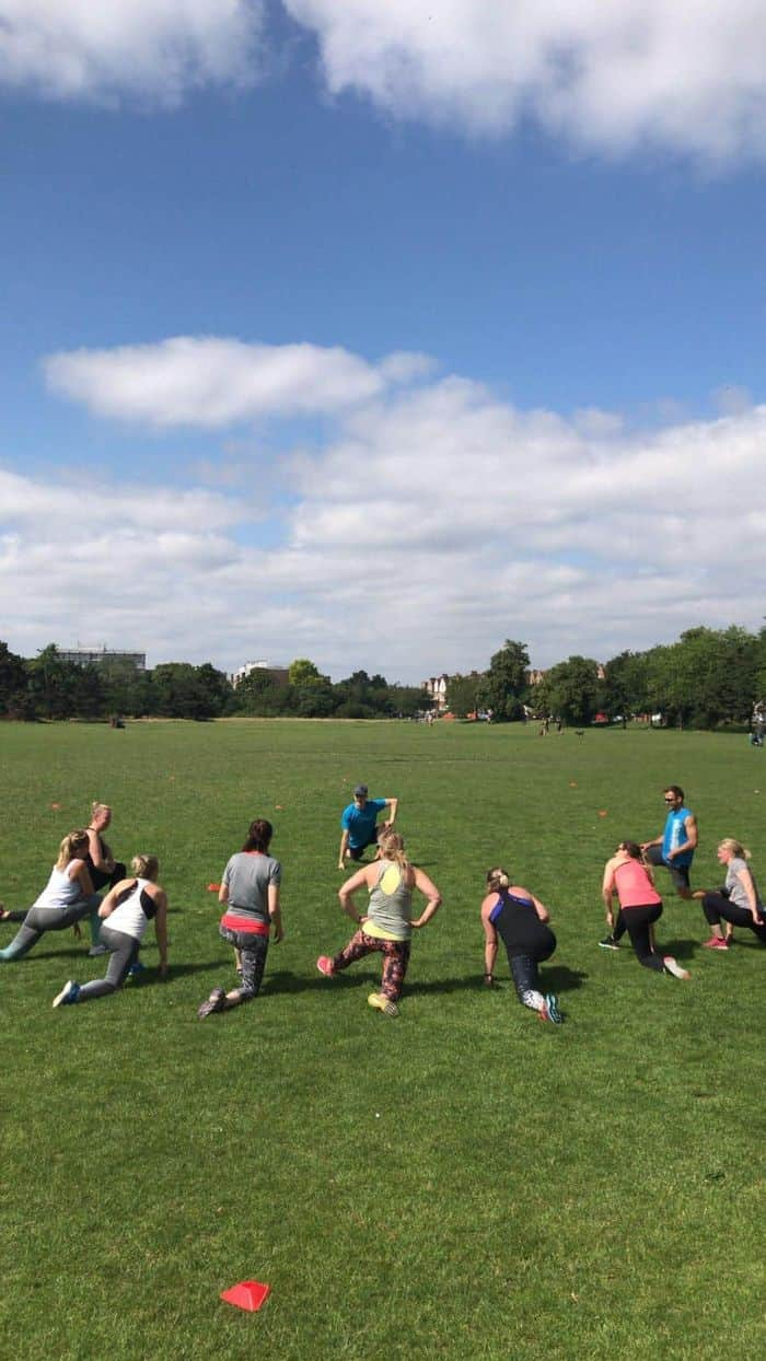 Monday Mash Up - Outdoor Bootcamp