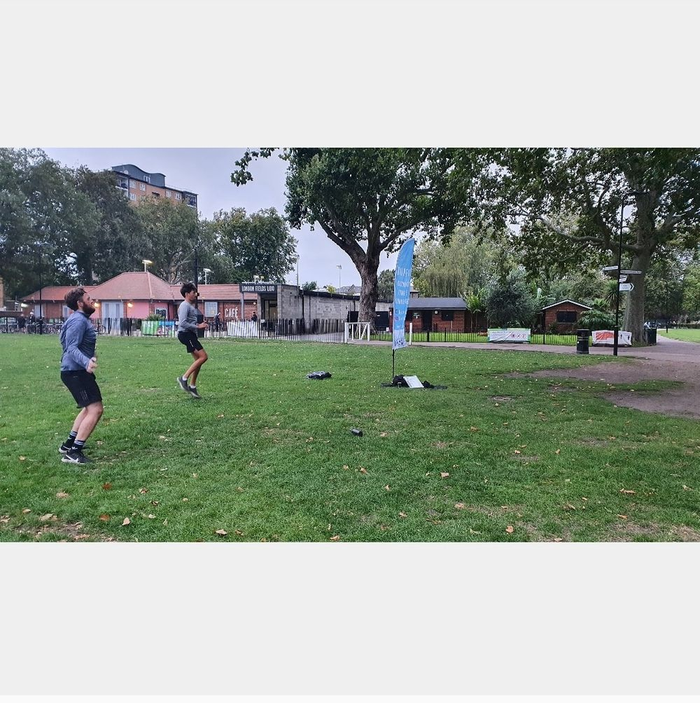 How are you starting your day??  London fields Thursday mornings