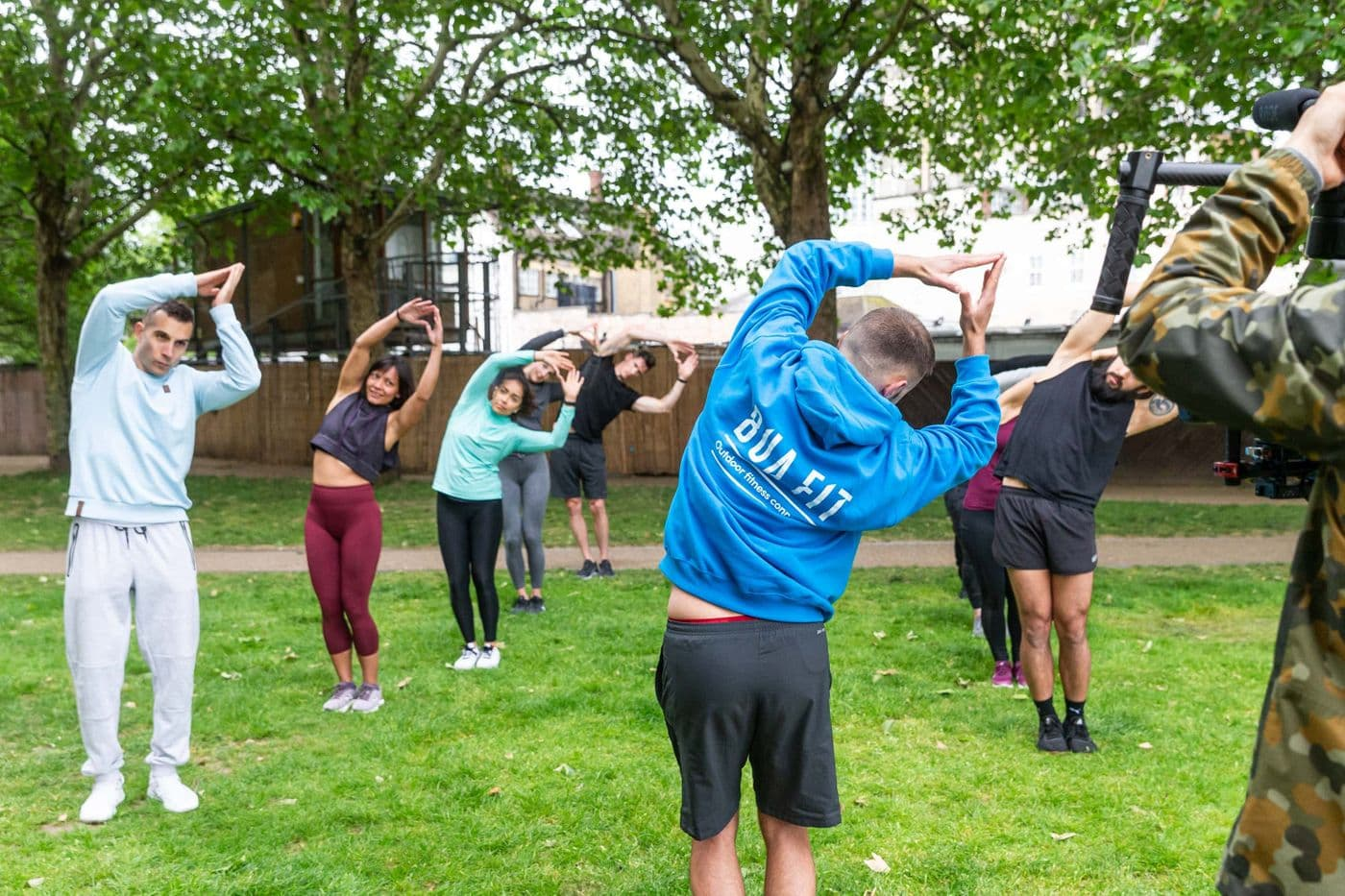 Pilates - Outdoor Mega Core Class
