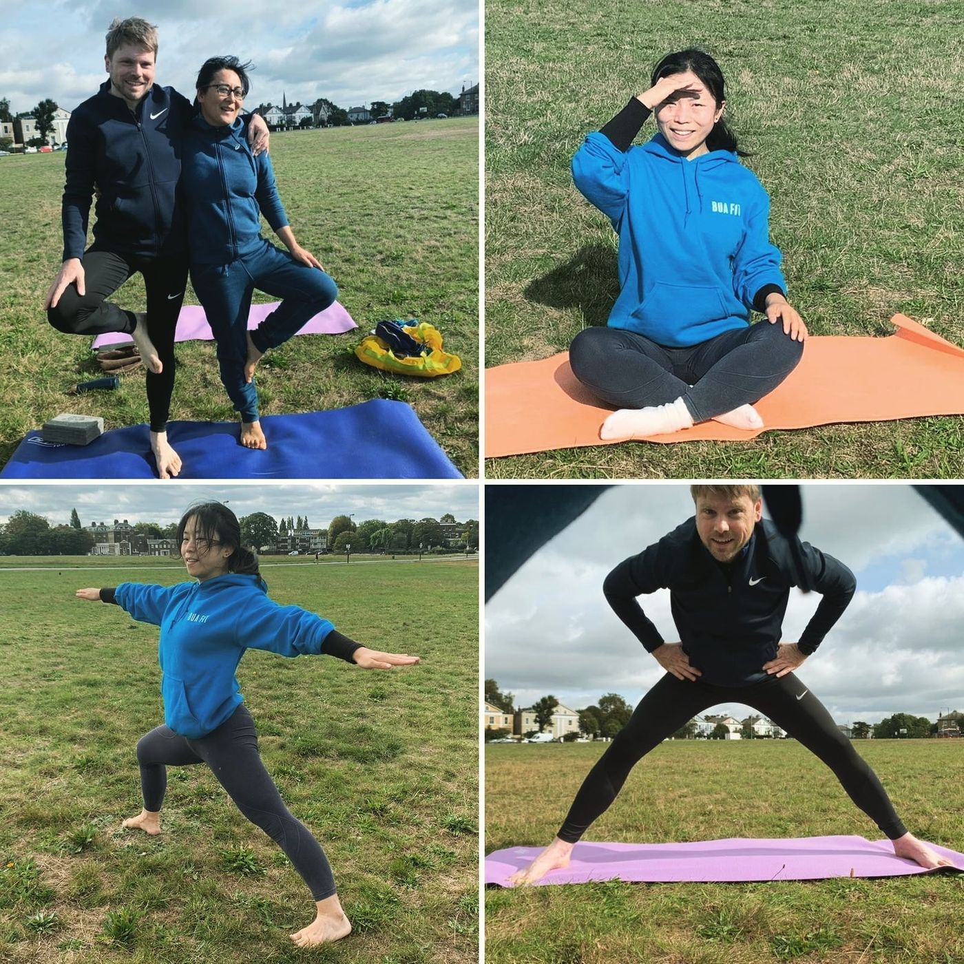 Outdoor yoga in Blackheath 😍 join us every Saturday 10am https://bua.fit/classes/gSfS18ixRUo0