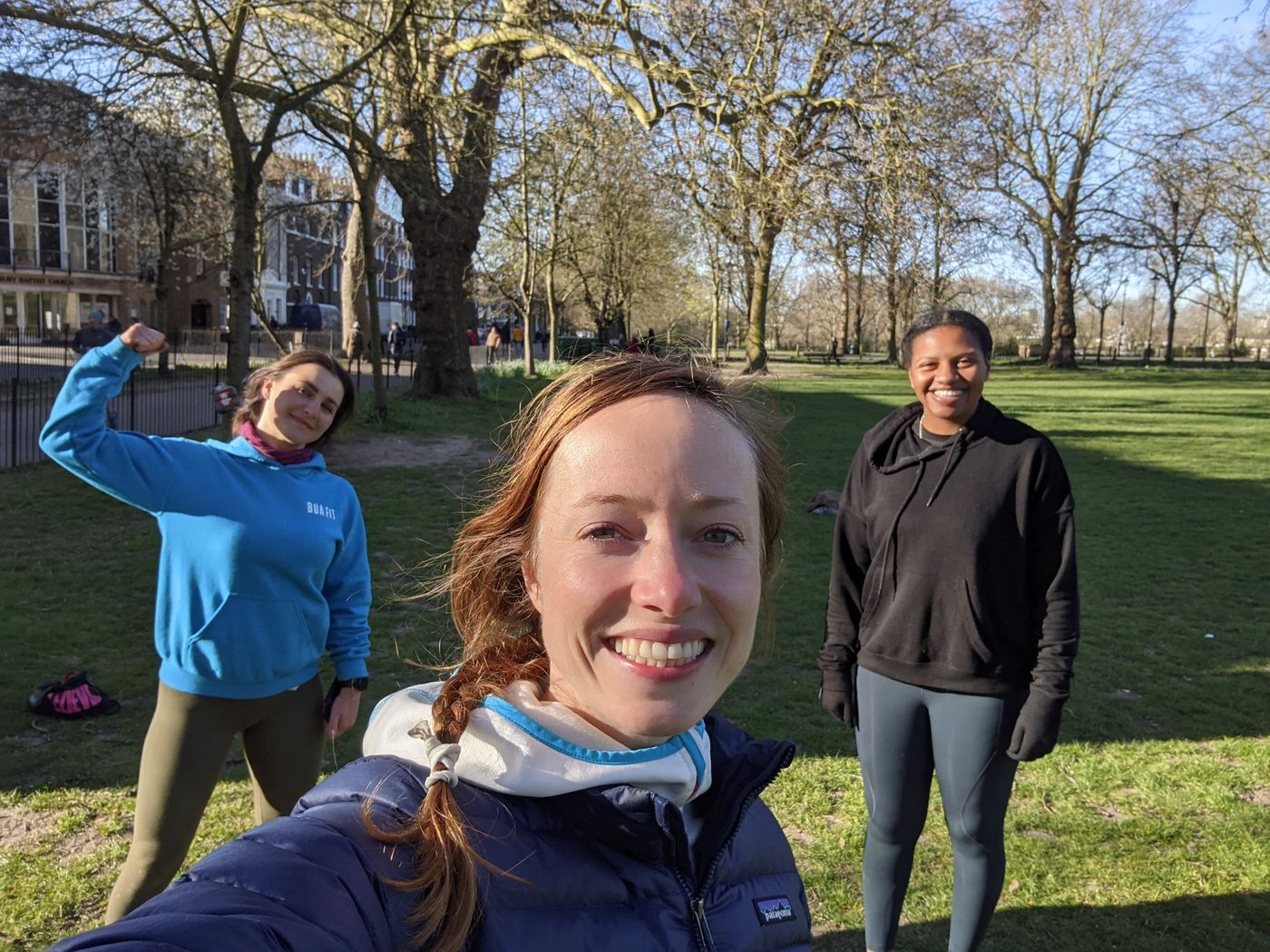 It always feels better after booty 🍑 boot camp!   Great morning sesh with the Highbury Fields Crew! 🥳   HAPPY TUESDAY TO ALL!