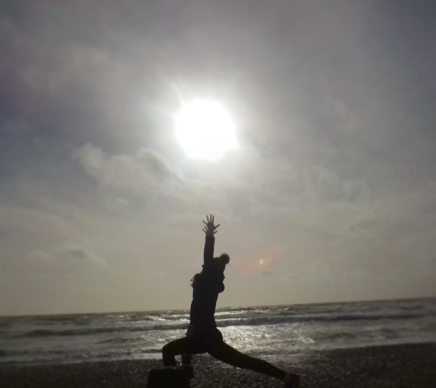 The days may be getting colder, but outdoor yoga is still wonderful if you wrap up warm and get the blood pumping with some rapid sun salutations!