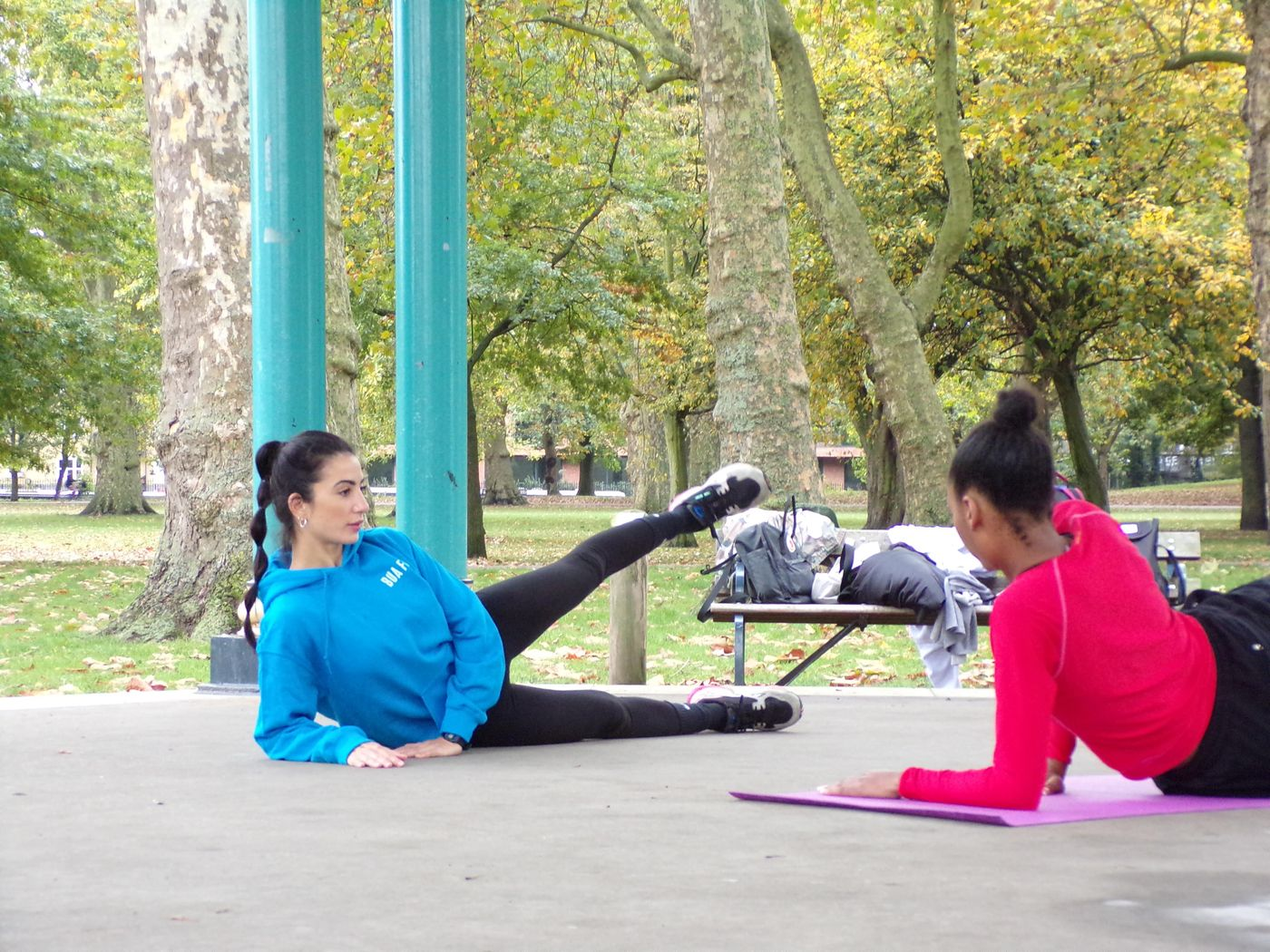 🍁🍂 Pilates outdoor 🍂🍁 