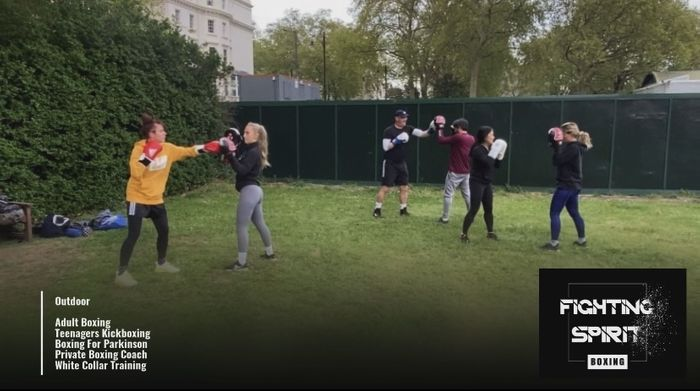 """Don't miss out London most intense outdoor boxing classes!!!!  We will be live on """"fightingspiritboxing""""Instagram this evening.  So if you wish to have sample of what we do make sure you tune in!!!!"""