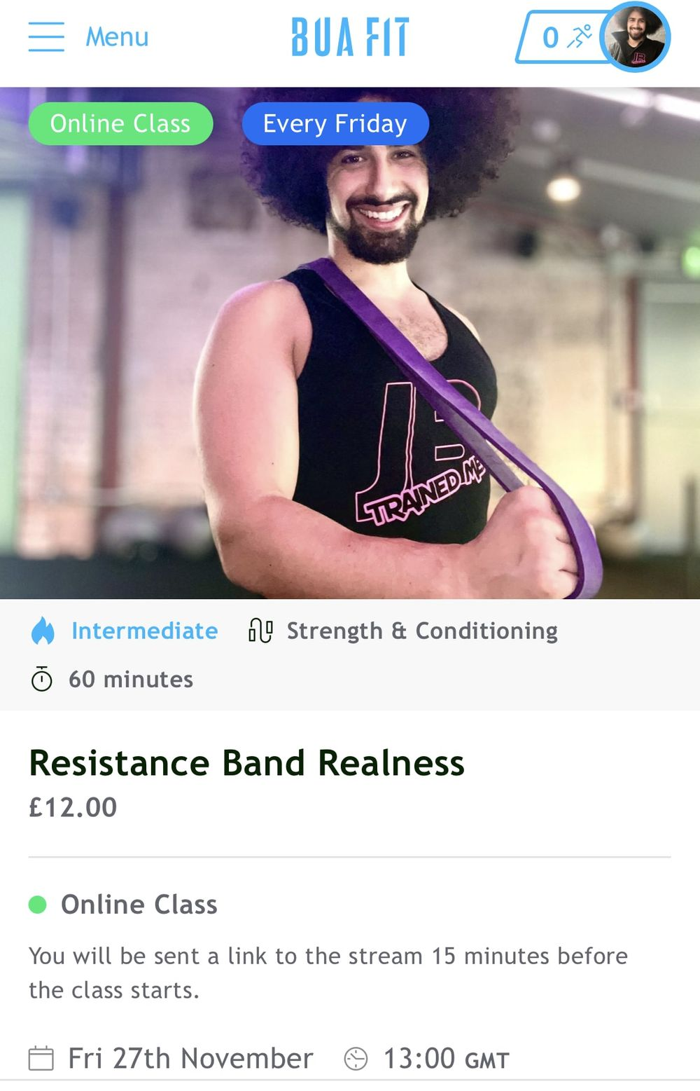 If you're still unsure or want more knowledge when it comes to Resistance Bands then my Strength & Conditioning class today is for you!