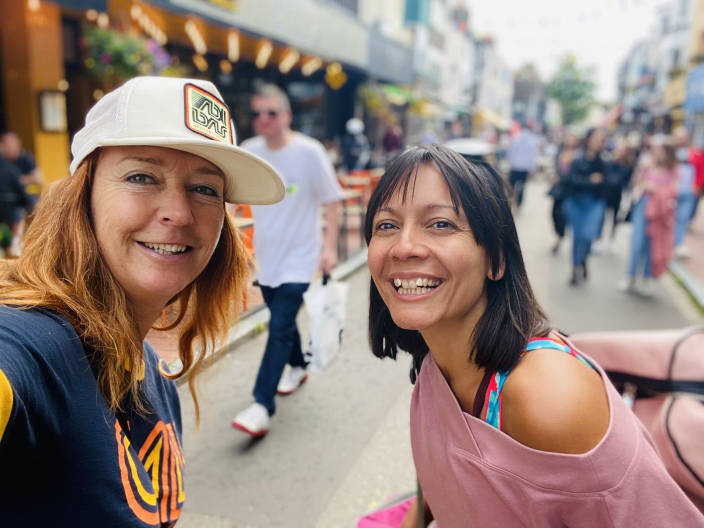Had fun in Brighton with Sarah today! Buafit create connection!  So excited to be teaching ZUMBA at THE SCOOP in London tomorrow ... I will be bringing the Party! Get ready! LOL!
