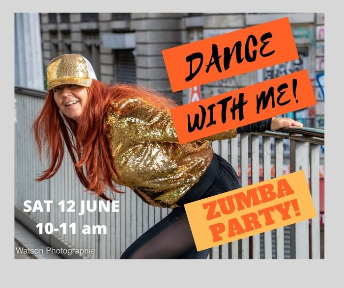 It's time to party tomorrow in a one off ZUMBA DANCE PARTY! Booking open!
