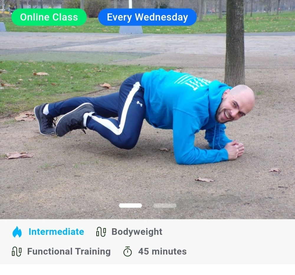 I have created a new online class for Wednesday morning🙂  If interested check it out and let's get going.
