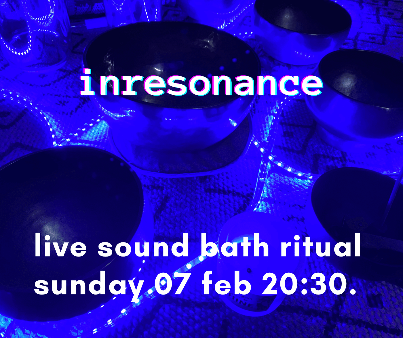 Hey guys, this Sunday I am offering a live soundbath. I will guide you with my voice through a n inner journey so we will prepare our body to the shower of vibration which will follow. It is a powerful way to attune to a very high vibe and set a very good space to start the coming week. Wanna give it a try?