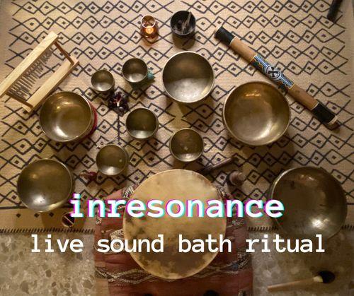 INRESONANCE online sound bath with iuri