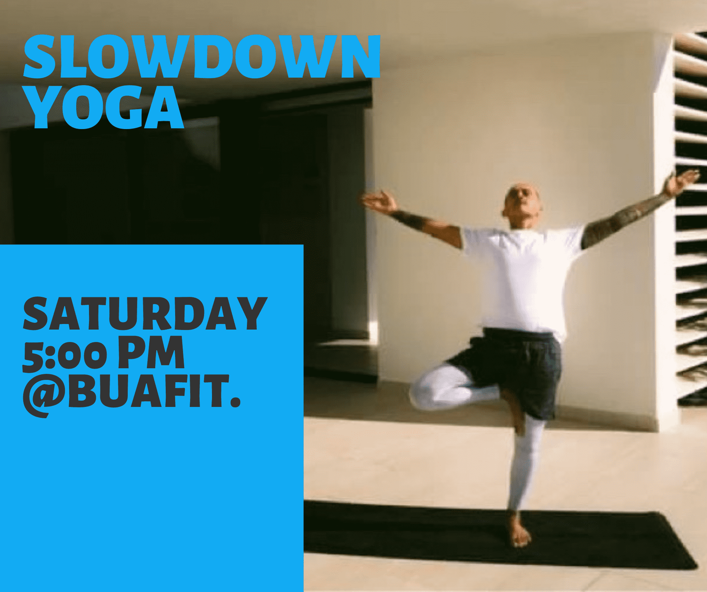 Hey community!!! Tomorrow yoga??? From home! And then also meditation.