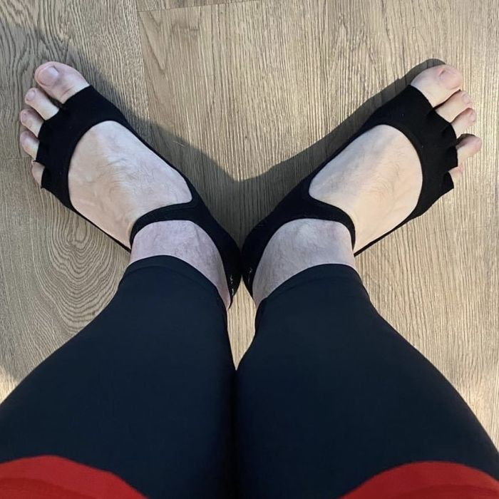 """A common question I get asked is """"How much should my feet turn out in 1st position?"""" Turn out actually comes from the thigh turning out from the hip joint. This avoids stress to the knees. Rock forward and back with feet together, flick feet out when you rock back. Where the feet land should be about right for you!"""