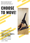 If you are working from home and feeling those aches & pains from being hunched over your laptop......... give yourself a break. Choose to move and feel fantastic for it!