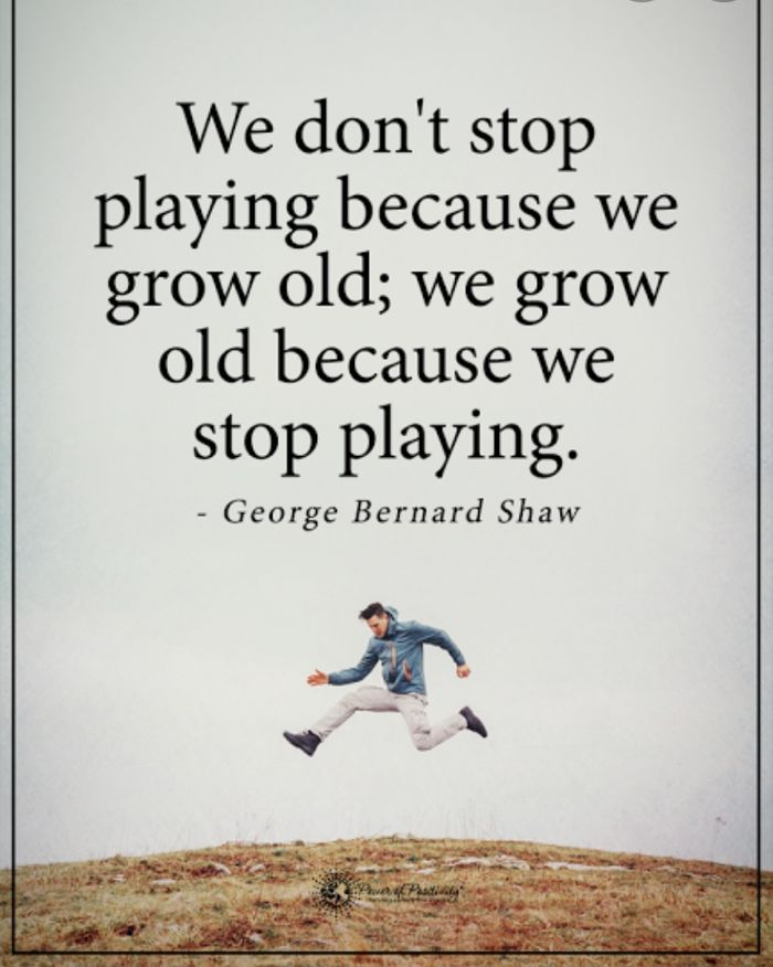 We do not stop exercising because we grow old, we grow old because we stop exercising! Regular physical activity is important for health and well- being throughout our lifecycle. We are all aging, no matter what our chronological age, 25yrs or 75yrs old. ... It is lifestyle choices that make the difference as we age.