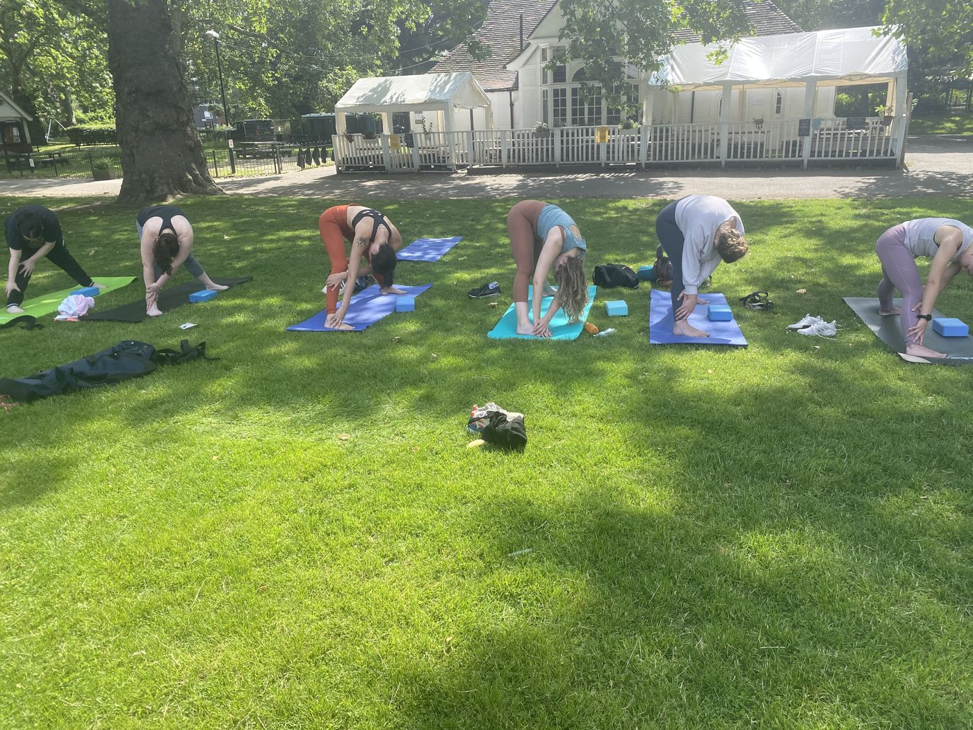 Please join me for yoga vinyasa in Kennington Park tomorrow at 10am