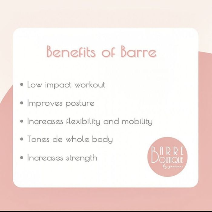 Happy Friday!  If you haven't tried it, here are some of the benefits of Barre.  Staring in July I'll be offering al fresco classes in Wandsworth, so if you're interested feel free to drop me a message!