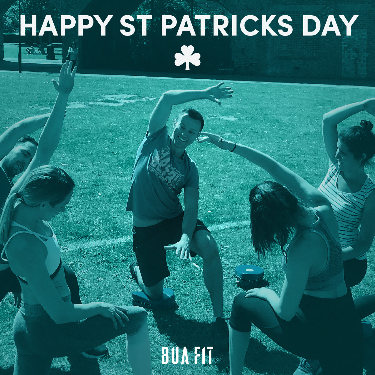 Are you partying or training for St Patricks Day?