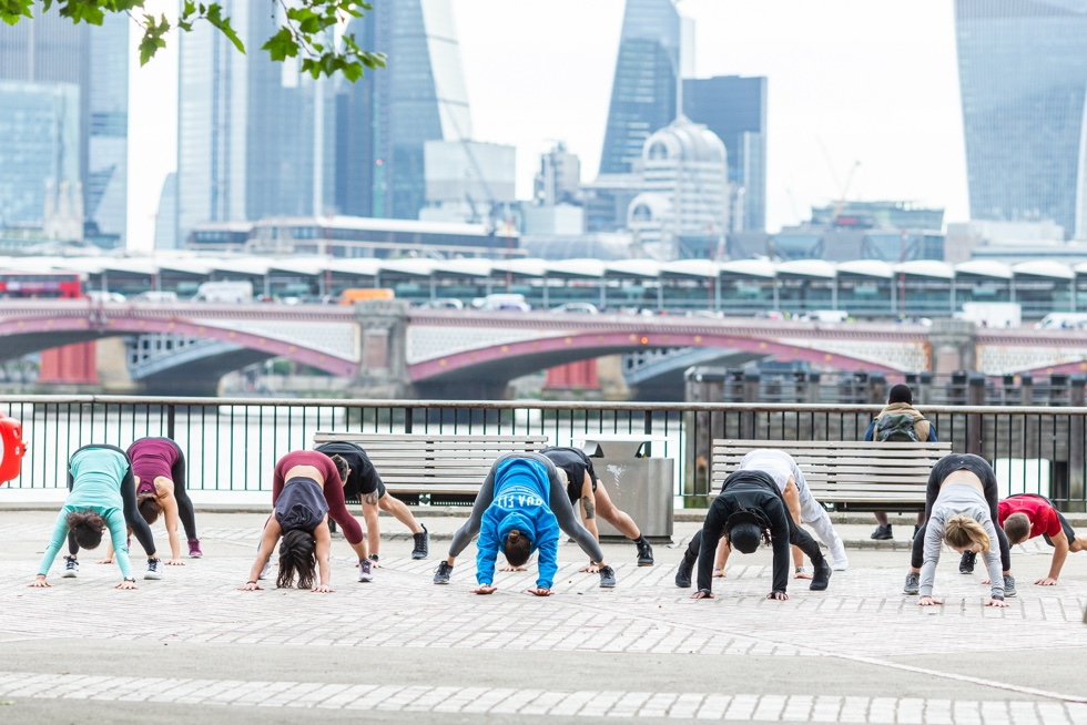 How can outdoor fitness improve your mental health?