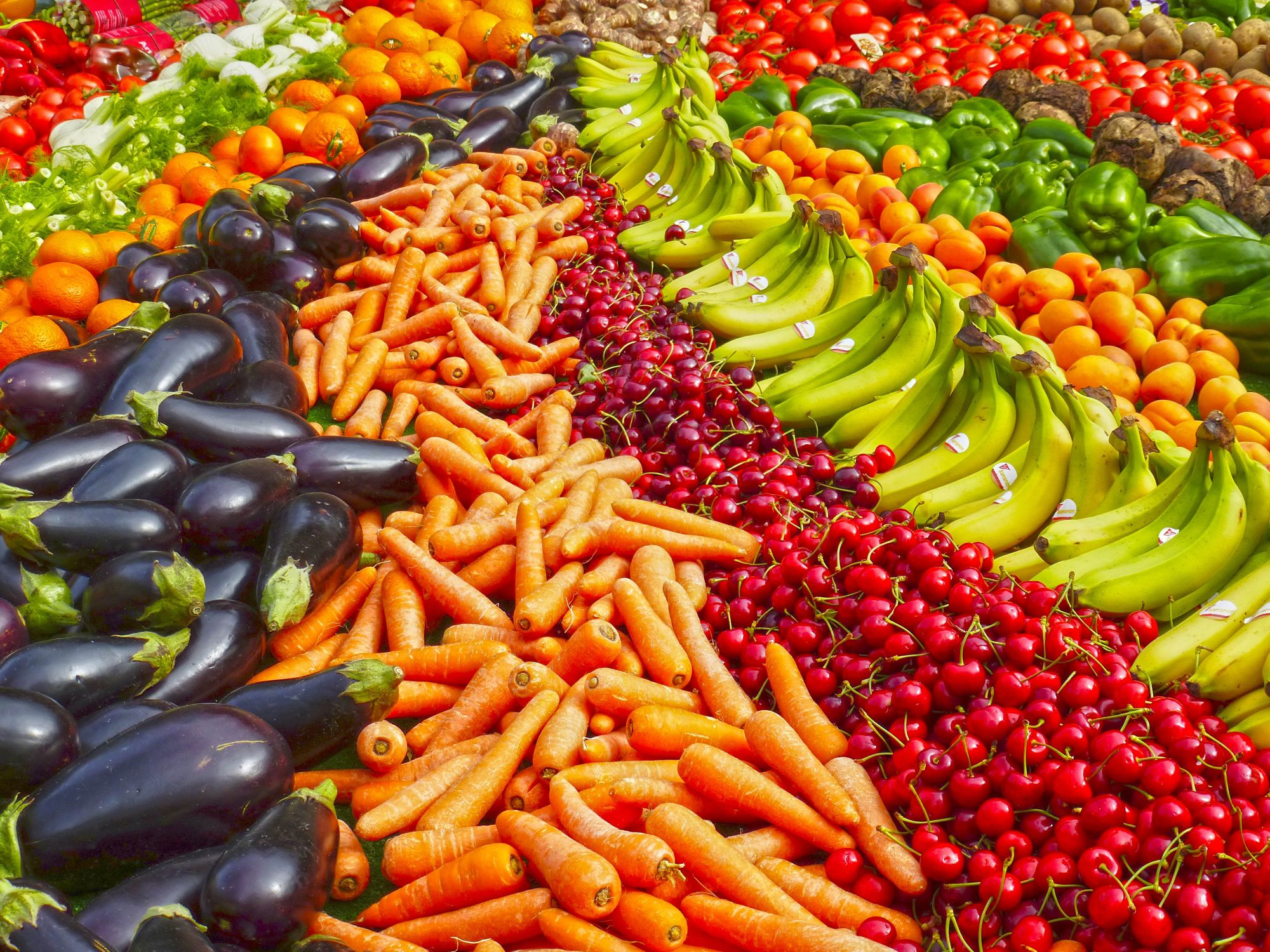 Keen to boost your nutrient intake? You need a colourful diet!